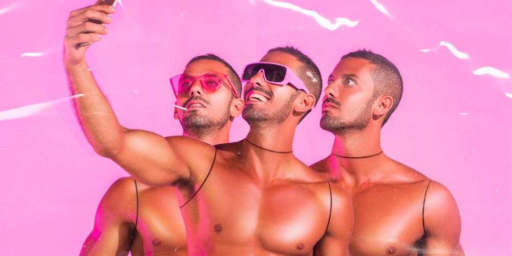 Barbies: ensaio sensual com humor e crítica da KIKI traz gays bombados