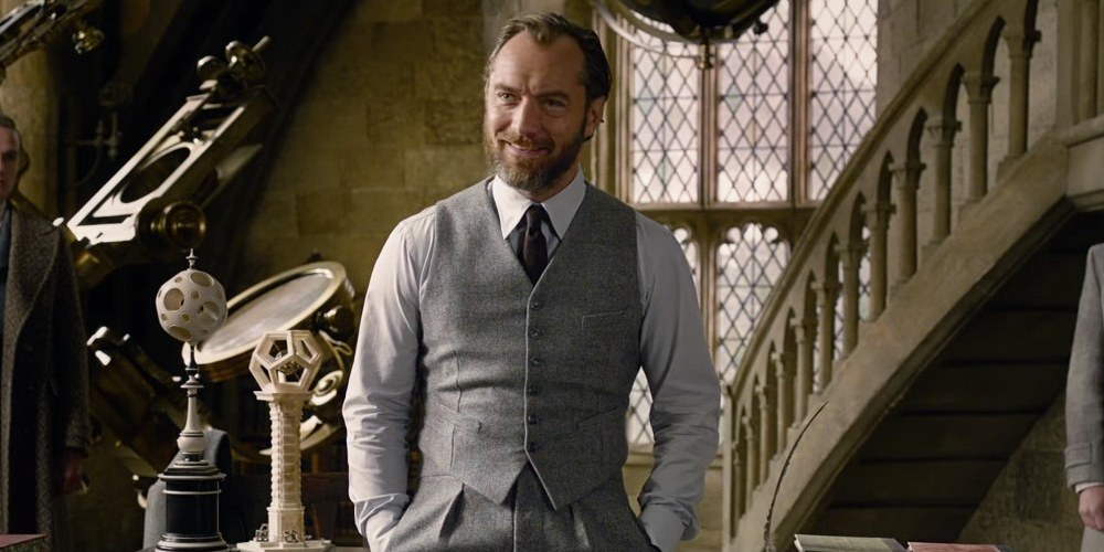 Jude Law Just Gave Hope to 'Fantastic Beasts' Fans Who Want to See a Gay Dumbledore