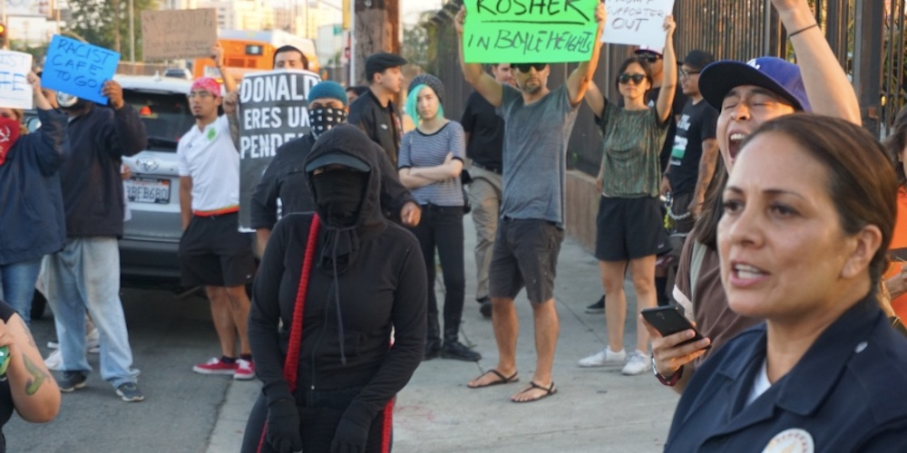 This Pro-Trump Coffee Shop Is Saying It Opened in L.A. to Protests and Feces on the Windows