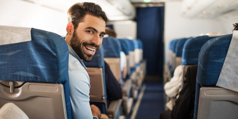 ย้ำกันอีกเล็กน้อยกับการเก็บน้องชายไว้ในกางเกงระหว่างนั่งเครื่องบิน