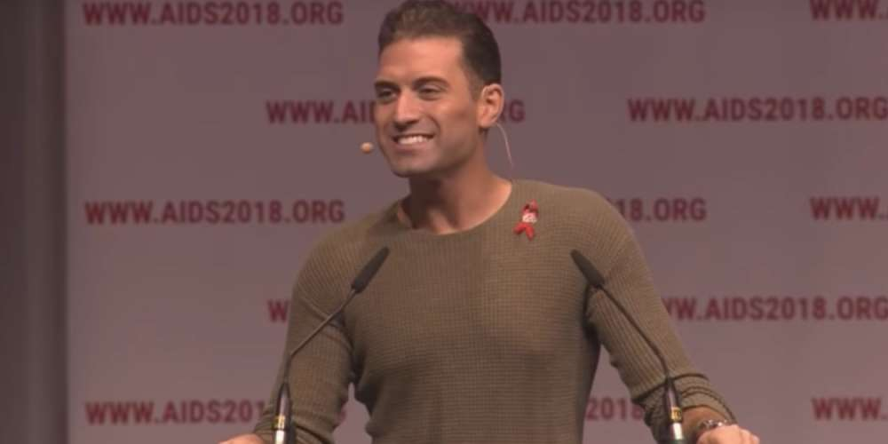 Omar Sharif Jr. Slams Trump as Unremarkable and Ignorant at World's Largest HIV Conference (Video)