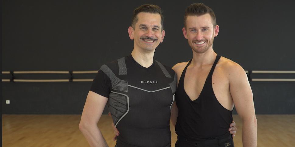 Objectif Gay Games: Patrice et Julian, danse: «C'est lui qui mène, mais c'est moi qui commande!»