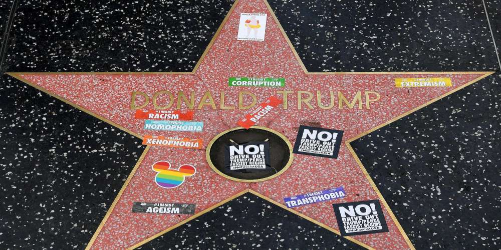 The WeHo Mayor and City Council Are Considering a Proposal to Remove Donald Trump's Hollywood Star