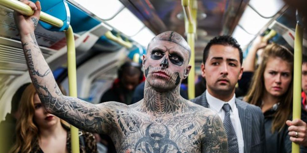 Rick Genest, 'Zombie Boy' from Lady Gaga's 'Born This Way' Video, Dead in Apparent Suicide