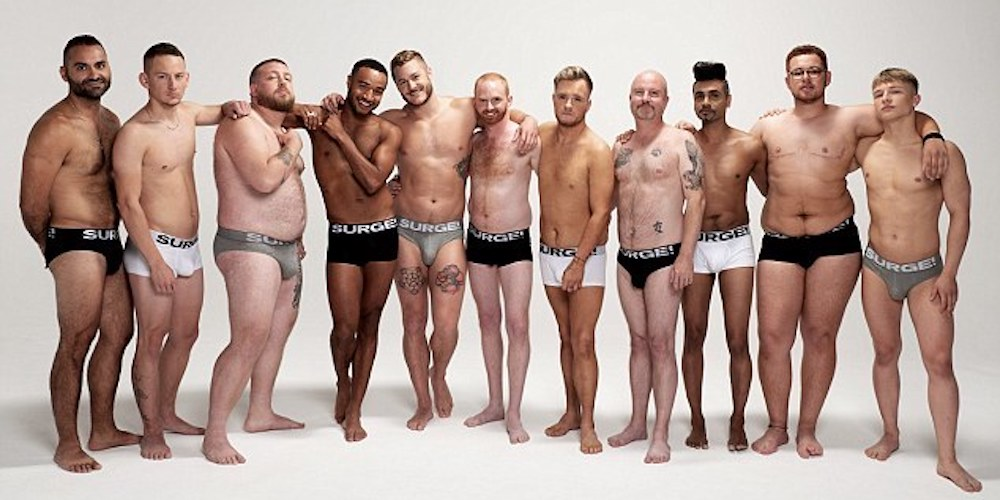 This Underwear Line Just Launched a Body-Positive, Trans-Inclusive Campaign  (Photos) | Hornet, the Gay Social Network