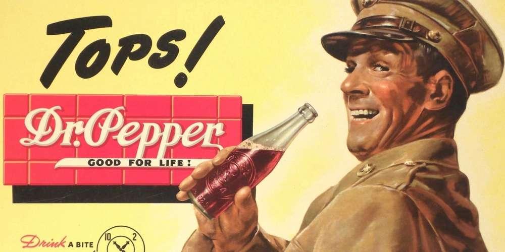 โฆษณาชวนงงของ Dr Pepper พยายามดึงดูดเกย์ด้วยการบอกว่าน้ำอัดลมนี้เป็นโบ๊ท