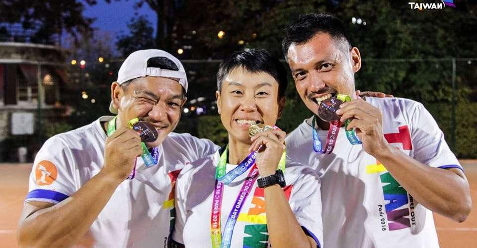 世界同志運動會台灣榮獲10金5銀3銅,蔡總統傳賀電祝賀