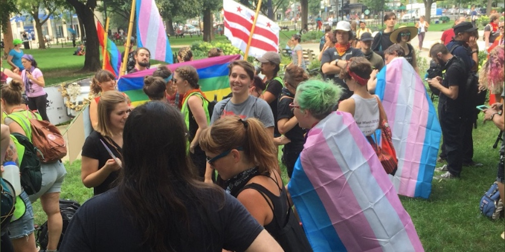 Yesterday's D.C. White Supremacist Rally Was Dwarfed by This Queer Dance Party