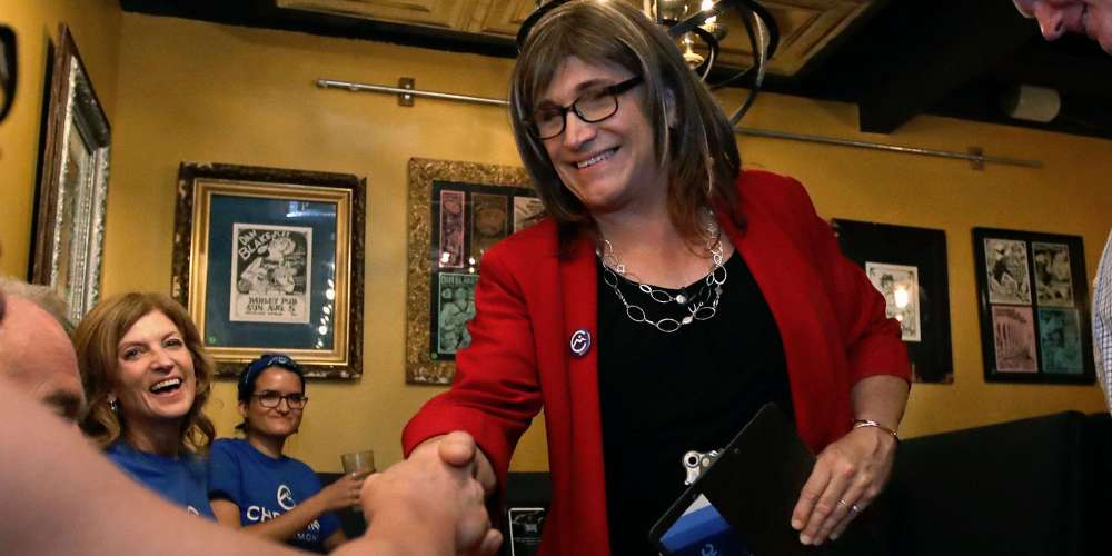 Christine Hallquist, First Trans Candidate for Governor: President Trump 'Is a Despot'
