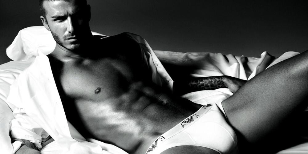 David Beckham revela: coloquei enchimento na cueca para fazer fotos