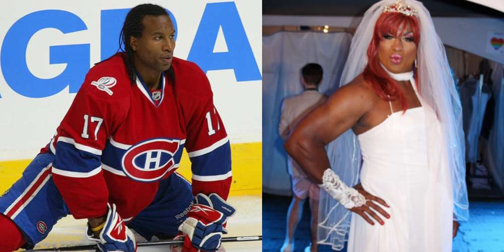 Former Pro Hockey Player Dons Drag and Lip Syncs 'I Will Always Love You' to Show How Stupid Homophobia Is
