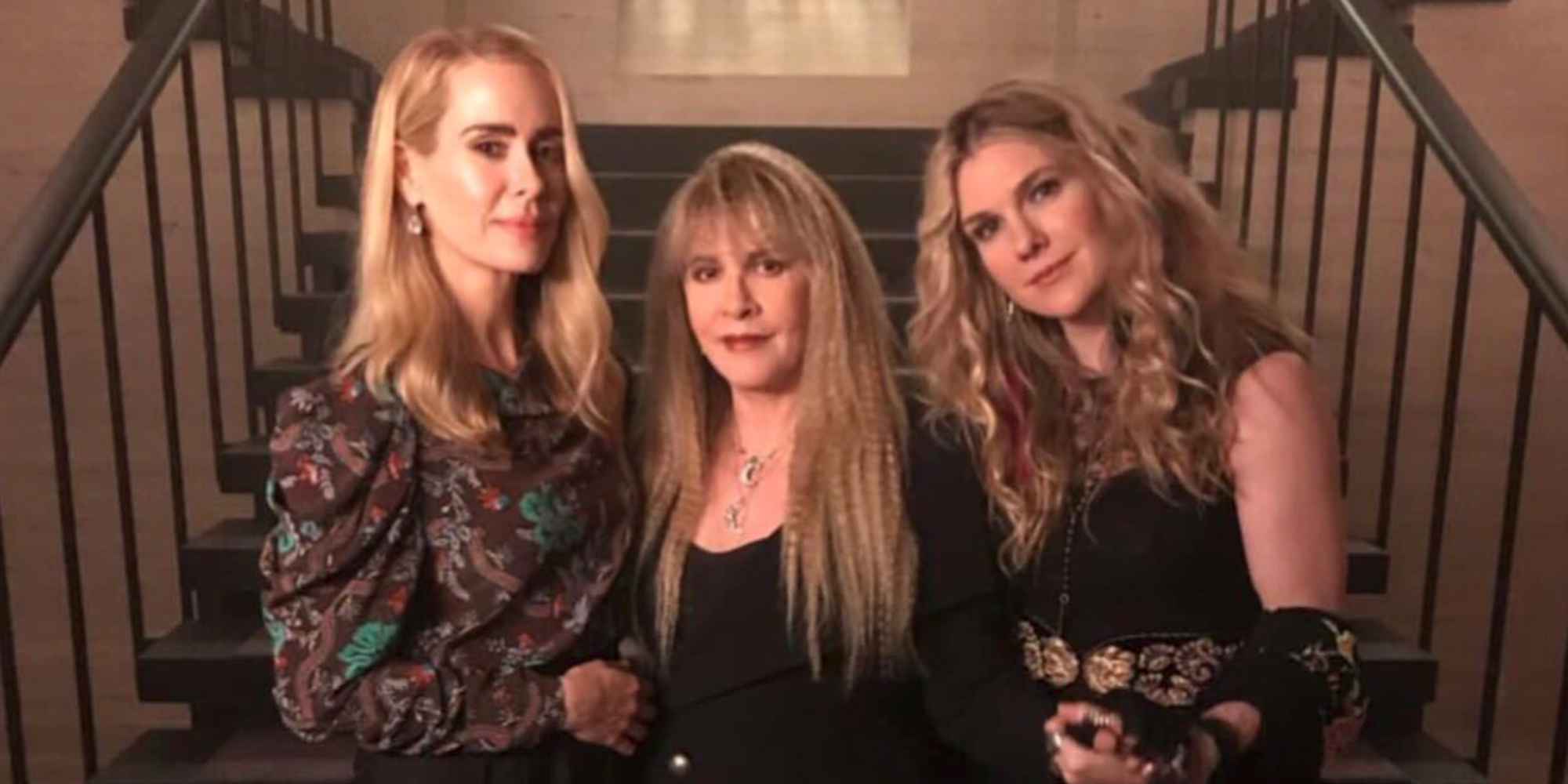 The Cast of 'American Horror Story: Coven' Has Reunited On Set and We're Spellbound