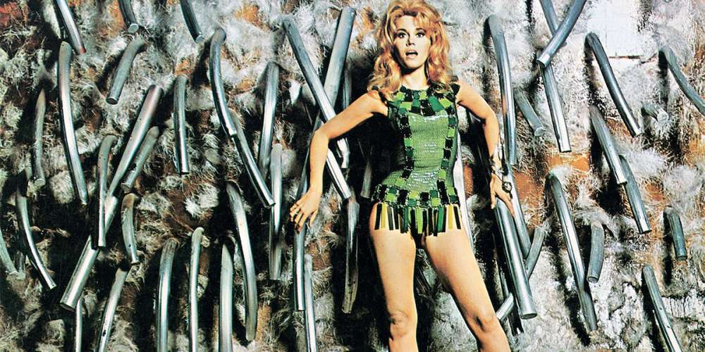 Behind the Scenes of 'Barbarella,' a Baffling Mess of a Movie That's Still Fun to Watch