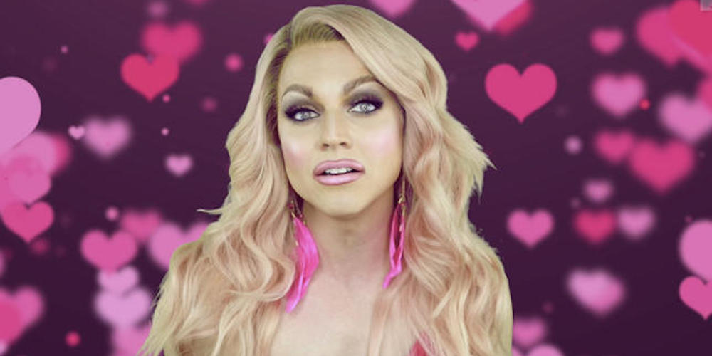 Courtney Act's Male Alter Ego Will Host an Upcoming Dating Series for Bi and Pan People