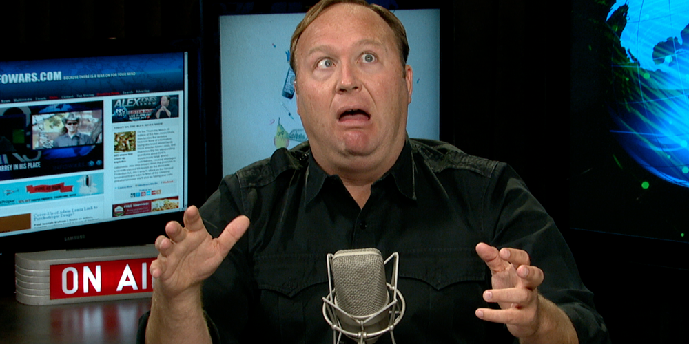 Alex Jones Busted: The Transphobic Infowars Host Has Been Outed as a Trans Porn Consumer
