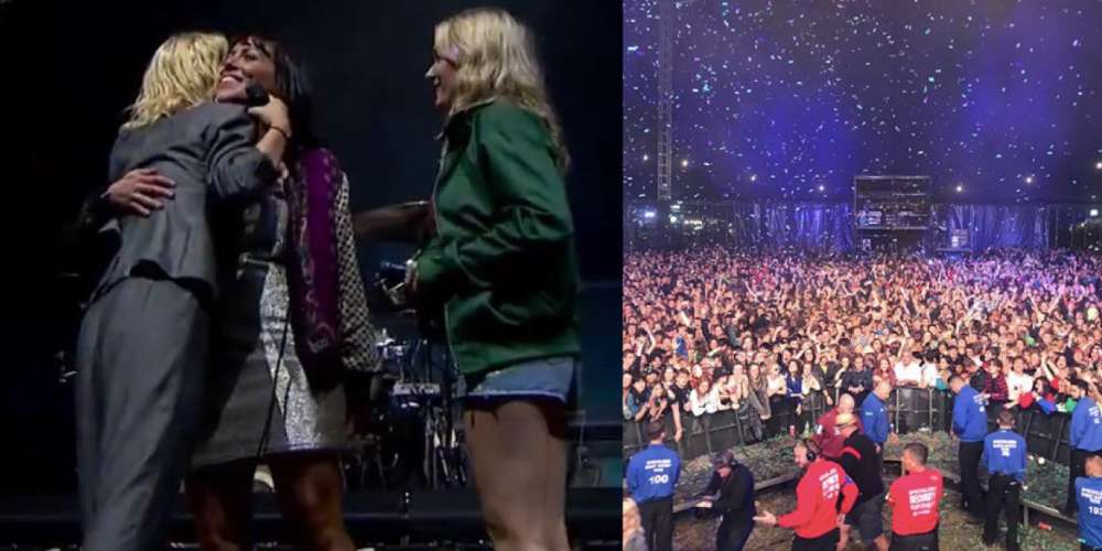 UK Band Wolf Alice Helped This Gay Couple Get Engaged at Reading Festival