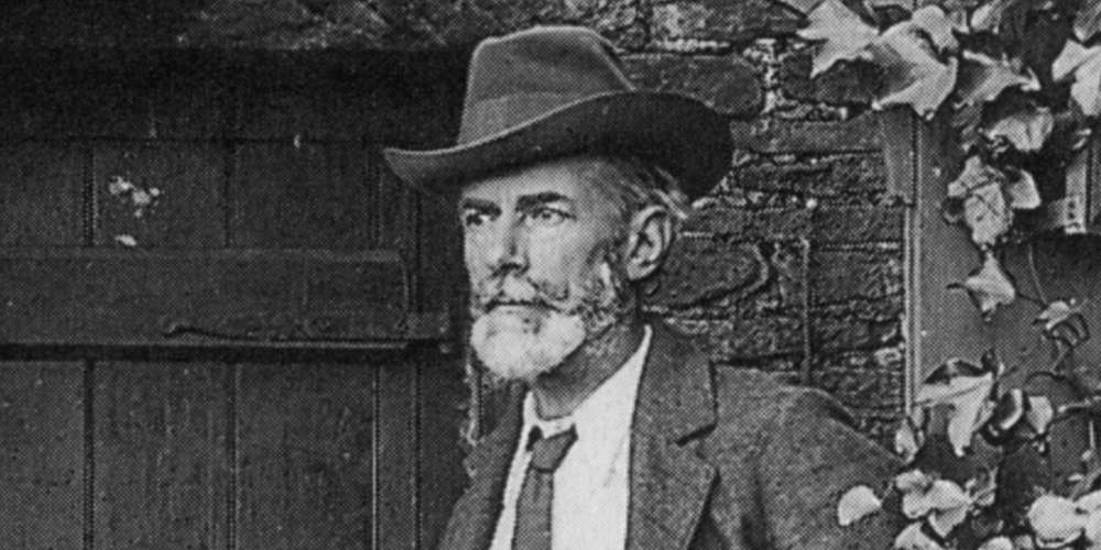 Let's Honor the Birthday of Edward Carpenter, England's Gay Godfather of the Left