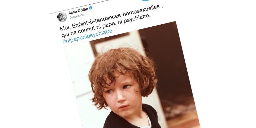 #NiPapeNiPsychiatre, un hashtag pour dénoncer l'homophobie du Pape