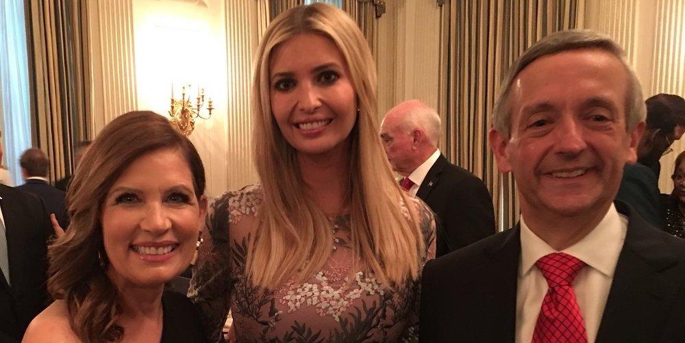Donald Trump Had a Huge White House Dinner for Rabid Anti-LGBTQ Evangelicals (Photos)