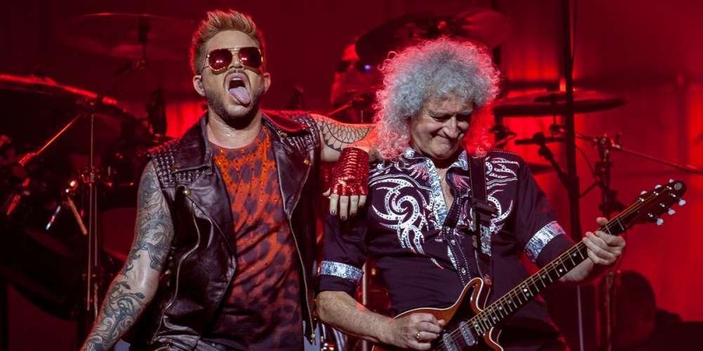 Watch Adam Lambert Lead His Las Vegas Queen Audience in 'Happy Birthday' for Freddie Mercury (Video)