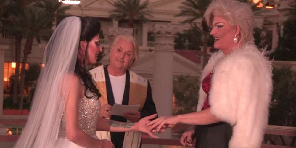 Two Drag Queens Tie the Knot in Las Vegas on 'Say Yes to the Dress'