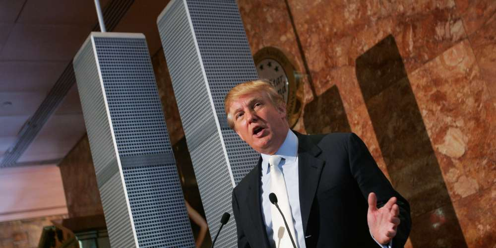 Donald Trump Has a Sordid History of Lying and Embarrassing Himself on Sept. 11