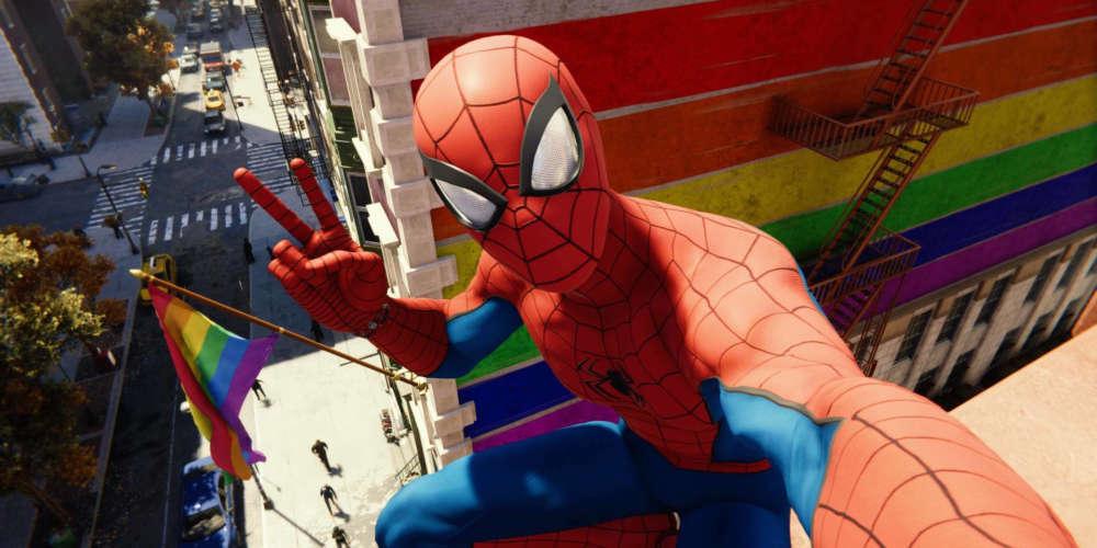 El Videojuego 'Spider-Man' de PS4 Tiene una Sorpresa para los Jugadores LGBT