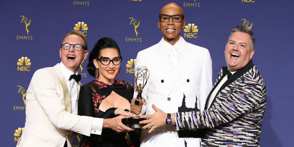 Yas Queen! 'RuPaul's Drag Race' Ganó el Emmy por Mejor Reality de Competencia