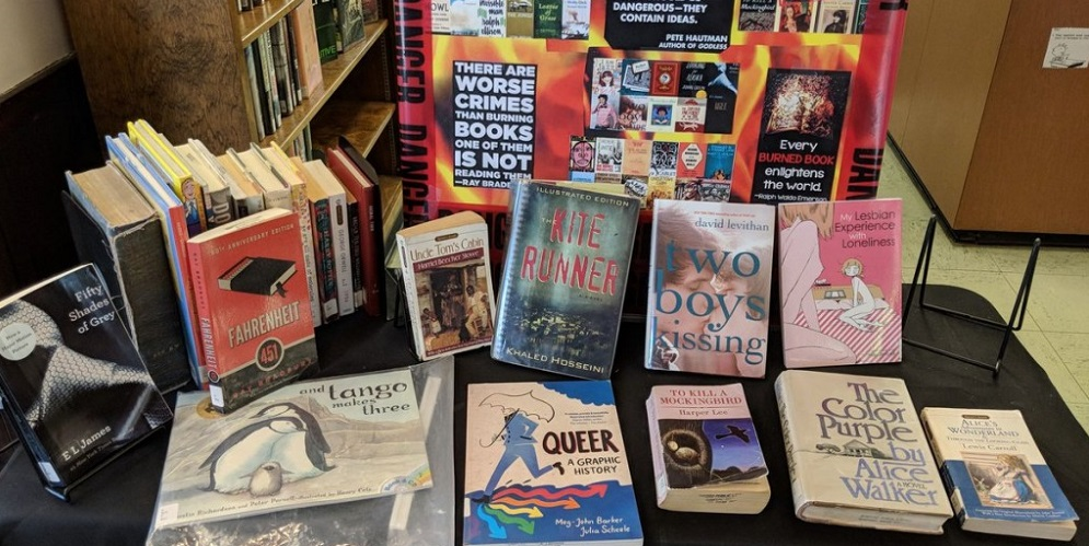 Oh, the Irony: Pastors Want to Nix LGBTQ Books From Library's Banned Books Display