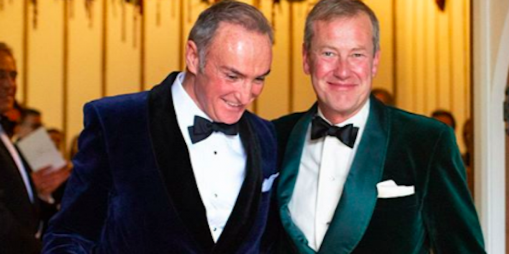 'Well, We Finally Did It': Queen Elizabeth's Gay Cousin Just Married His Boyfriend
