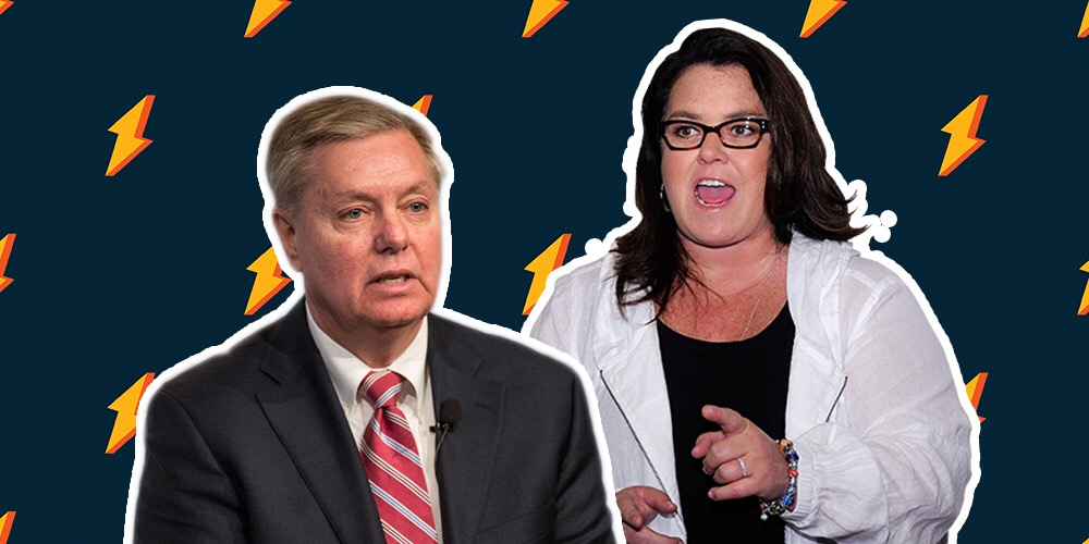 Rosie O'Donnell Goes There With Sen. Lindsey Graham: You're a 'Closeted Idiot'