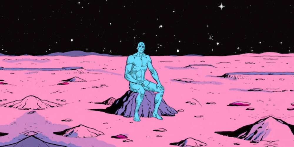 DC Censors Batman's Penis While Allowing Dr. Manhattan to Let It All Hang Out