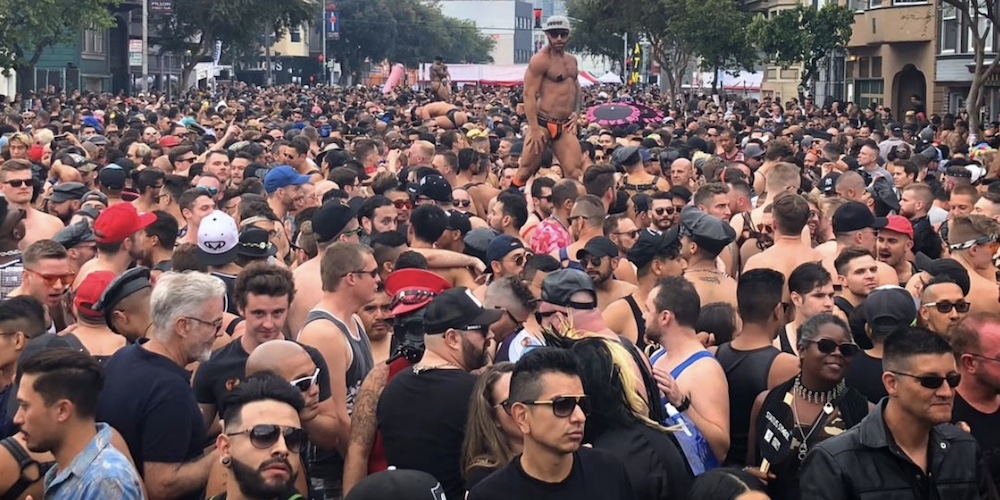 20 Sexy Shots From San Francisco's Folsom Street Fair 2018