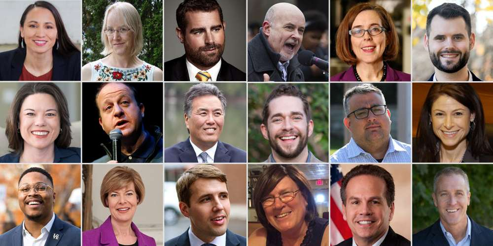 A Rainbow Wave: 28 LGBT Wins From Yesterday's U.S. Midterm Elections