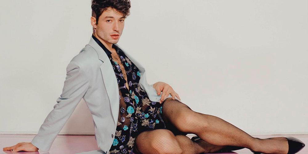 Ezra Miller Continúa Volviéndonos Locos con sus Looks Queer y Ahora Posa para Playboy