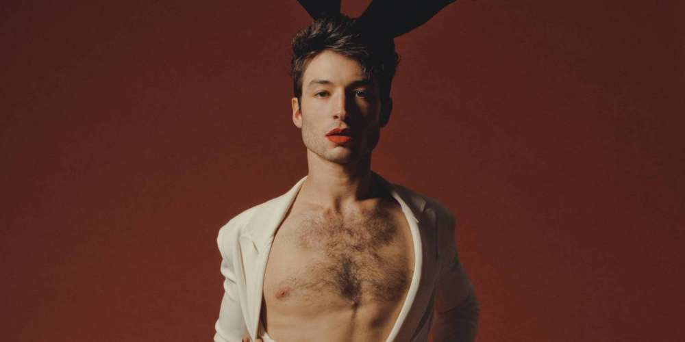 This Photo Shoot Ezra Miller Did for 'Playboy' Could Be the Sexiest Thing We've Ever Seen