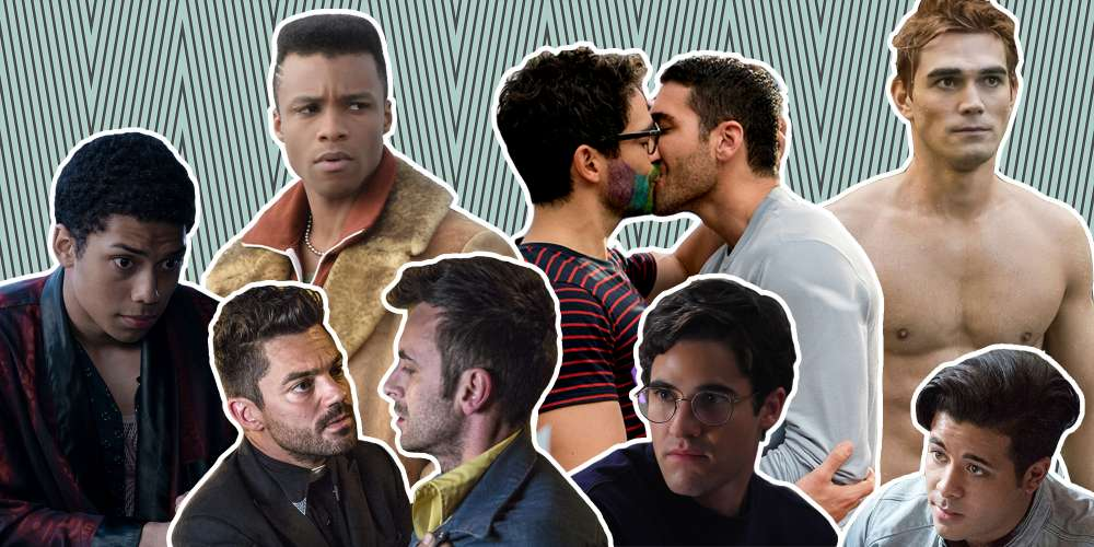 2018 Was a Great Year for Sexy Gay TV Moments, and This Mega-Edit Is Proof (Video)