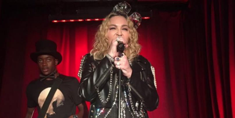 Madonna lance les 50 ans des émeutes du Stonewall avec une performance surprise