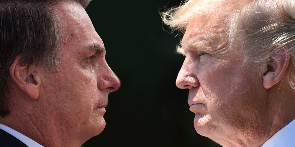 Brazil's New President Is a Homophobic Authoritarian, So Naturally Donald Trump Loves Him