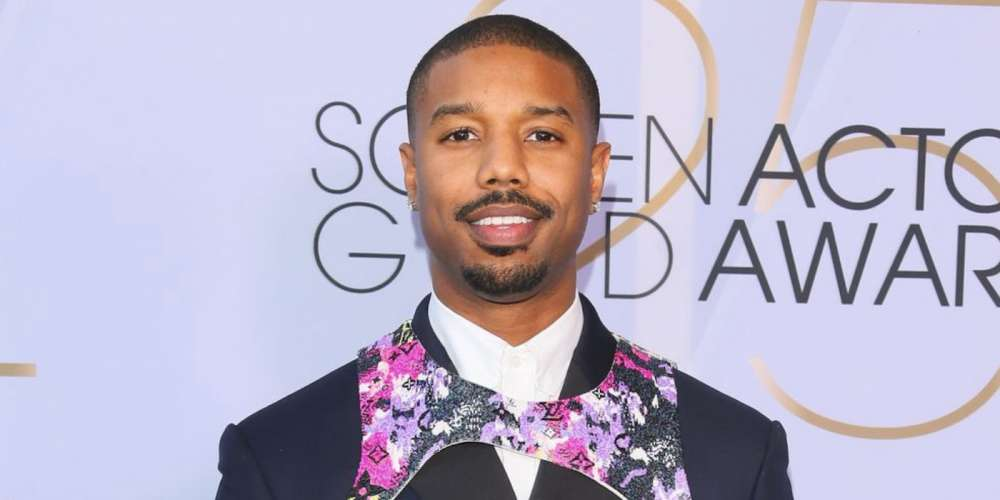 Michael B. Jordan Is the Latest Hollywood Star to Wear a Harness on the Red Carpet