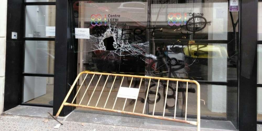 European LGBTQ Centers in Barcelona and Rome Were Vandalized This Month