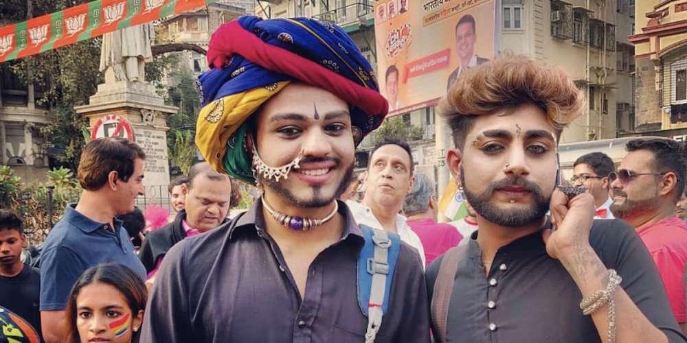 Pride à Bombay: En Inde, les personnes LGBT peuvent enfin défiler sans crainte
