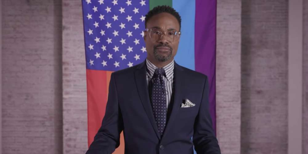 Hours Before Trump's Speech, Billy Porter Gave Us the 'State of the LGBTQ Union' (Video)