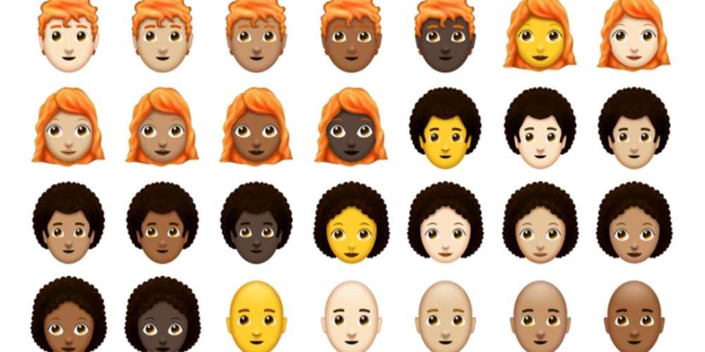 Gênero neutro nos emojis chega aos smartphones até outubro
