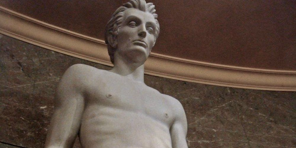 Twitter Has Hilarious Things to Say About This Sexy Abraham Lincoln Statue