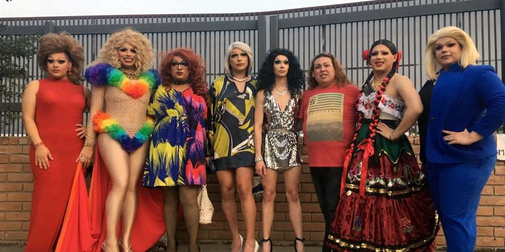 This Weekend a Group of Texas Queens Staged a Show in Protest of the Mexico Border Wall