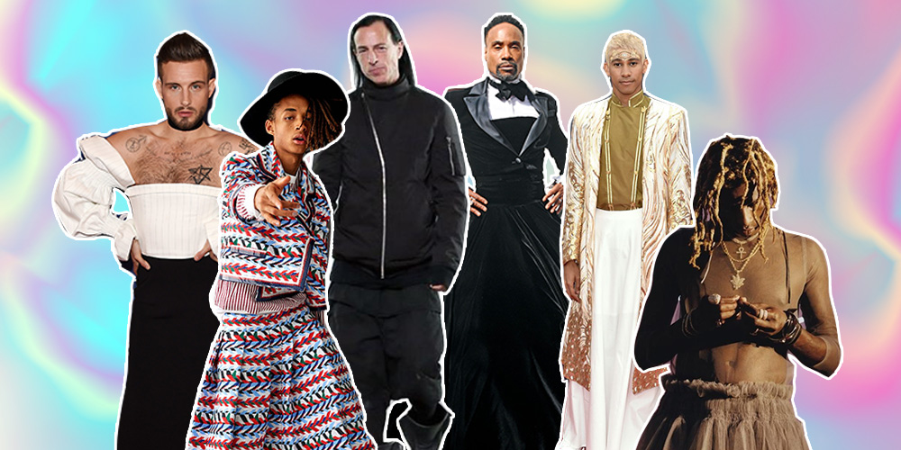 Prepárense, este 2019 Será el Año en que los Hombres Usen Faldas