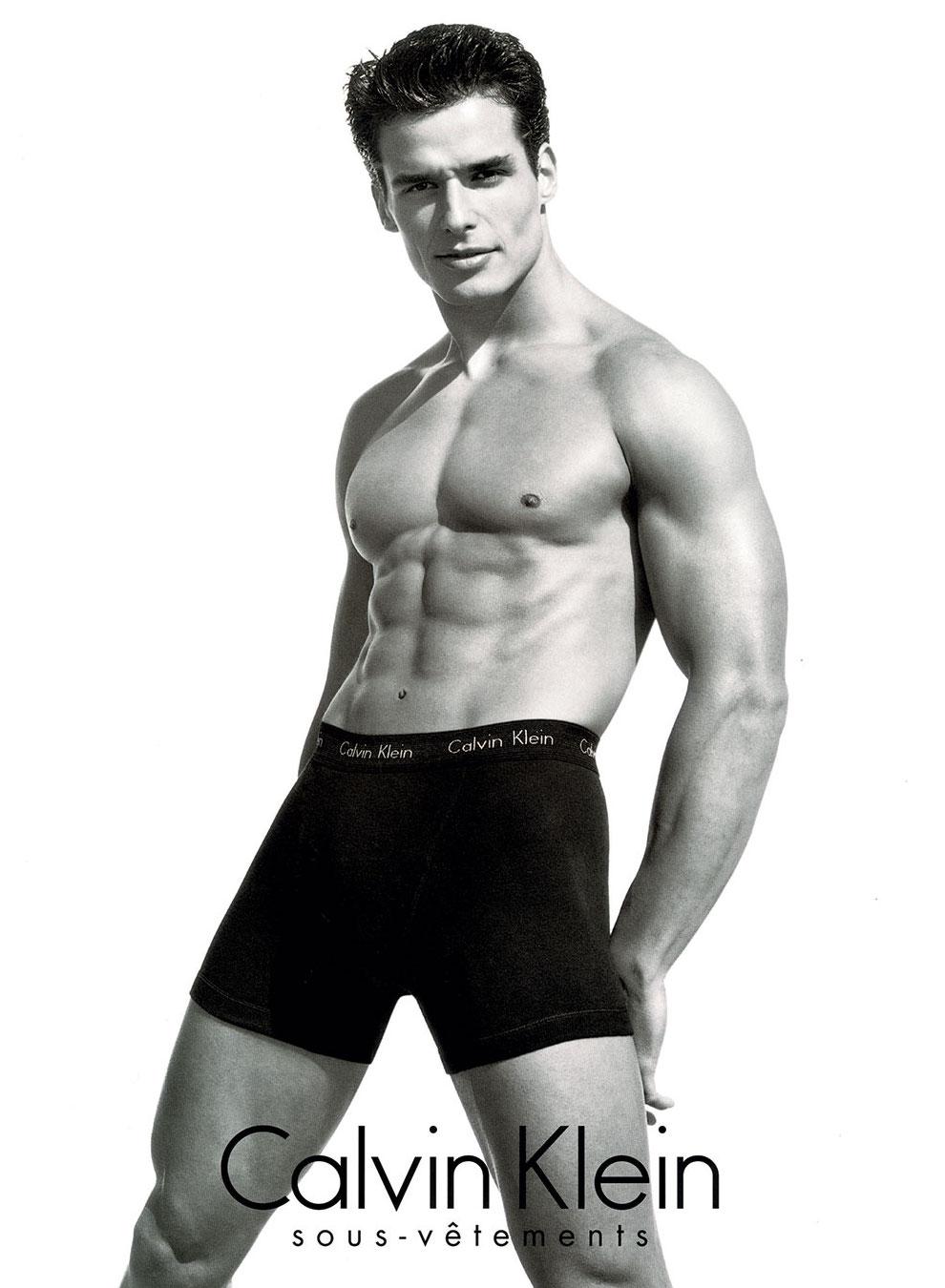 celebrity calvin klein underwear ads antonio sabato