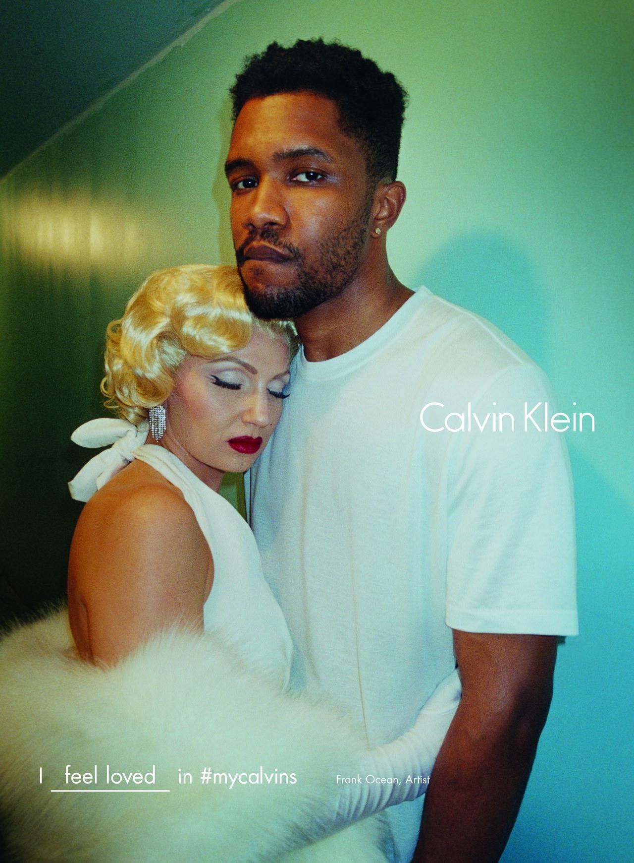 celebrity calvin klein underwear ads frank ocean