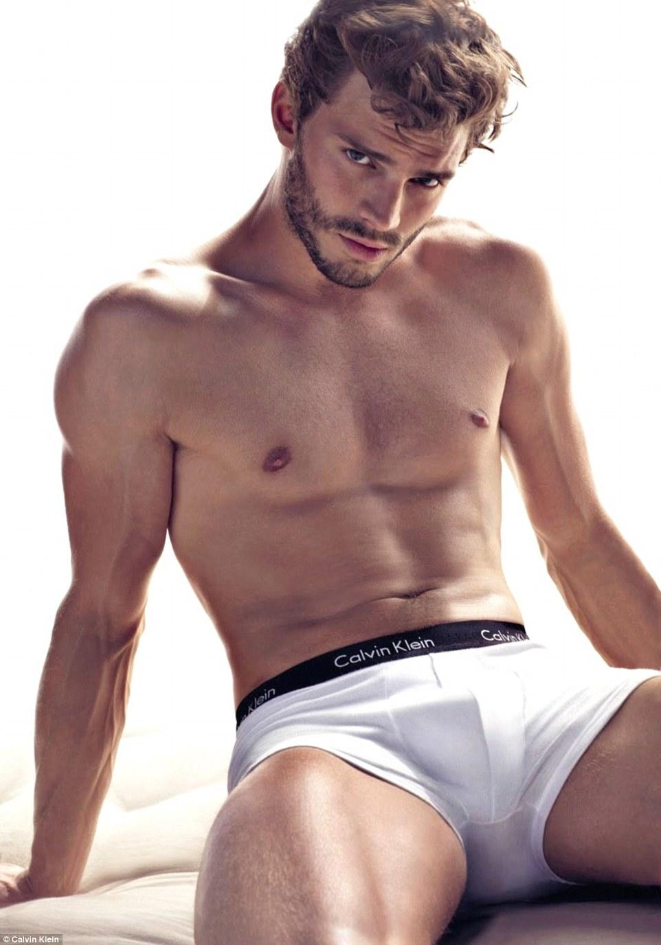 celebrity calvin klein underwear ads jamie dornan